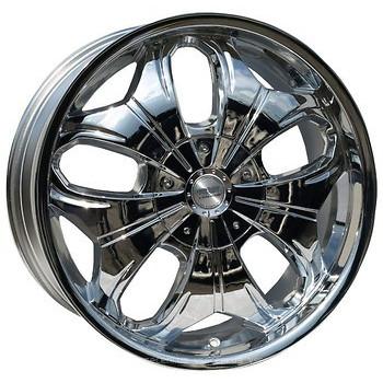Racing Wheels H-377 Chrome R20 W8,5 PCD5x130 ET45 DIA71,6